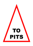 sign to pits